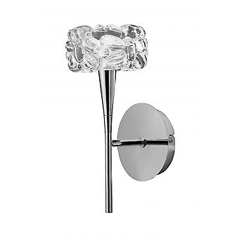 Mantra O2 Wall Lamp Switched 1 Light G9, Polished Chrome