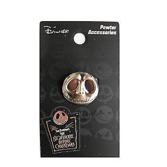 Pin - Disney - Nightmare Before Christmas - Jack Head Metal New Toys Gifts Licensed 26809