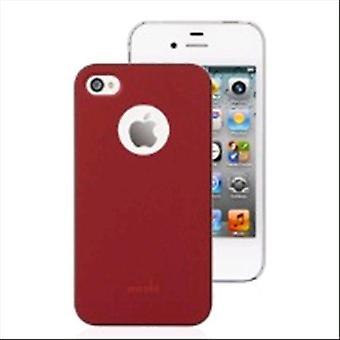 Moshi i-glazuur Bourgondië Red cover i-telefoon 4/4s