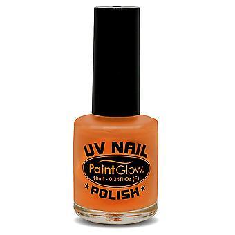 Smiffys Uv smalto per unghie Orange 12ml (Neonati e Bambini , Costumi)