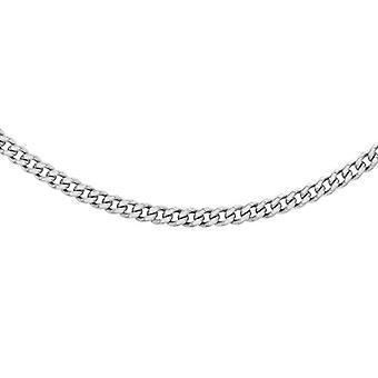Dearest Gold Necklace For Women - in White Gold 9K (375) - Missura 46 cm