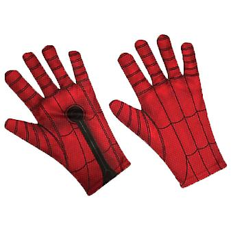 Spiderman Kinder Handschuhe rot/Bllue