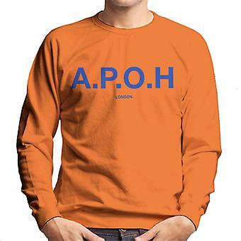 A.P.O.H Classic Cobalt Logo Men's Sweatshirt