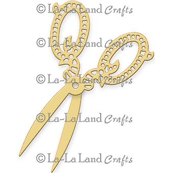 La-La Land Die-Fancy Scissors LL8183