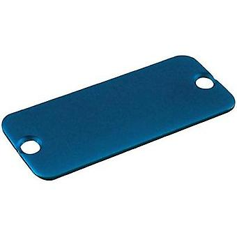 End cover Aluminium Blue Hammond Electronics 1455PALBU-10 1 pc(s)