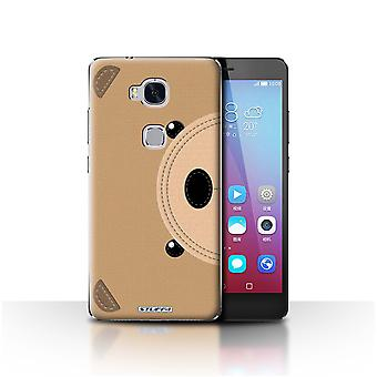 STUFF4 Case/Cover voor Huawei Honor 5 X/GR5/Beer/dier Stitch Effect