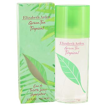 Green Tea Tropical By Elizabeth Arden Edt Spray 100ml