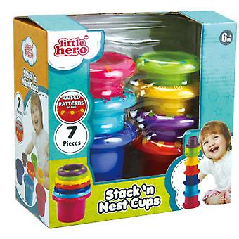 Little Hero Cubes for Stacking and Nesting (Toys , Preschool , Babies , Stackable Toys)