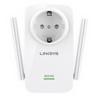 Linksys RE6700-EU WLAN repeater 1.2 GBit/s 2.4 GHz, 5 GHz