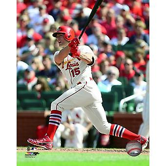 Stephen Piscotty 2016 Action Photo Print