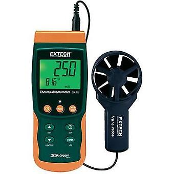 Anemometer Extech SDL310 0.4 up to 25 m/s Calibrated to Manufacturer standards