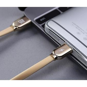 Remax RM-037A data charging cable 100 cm USB C on Lightning connection - gold