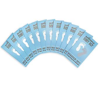 Baby Shower Scratch Off Card Game 12/Pkg-Blue 1405-202