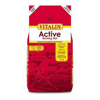 Vitalin aktiv arbejder kost med Over 30% kød 15kg