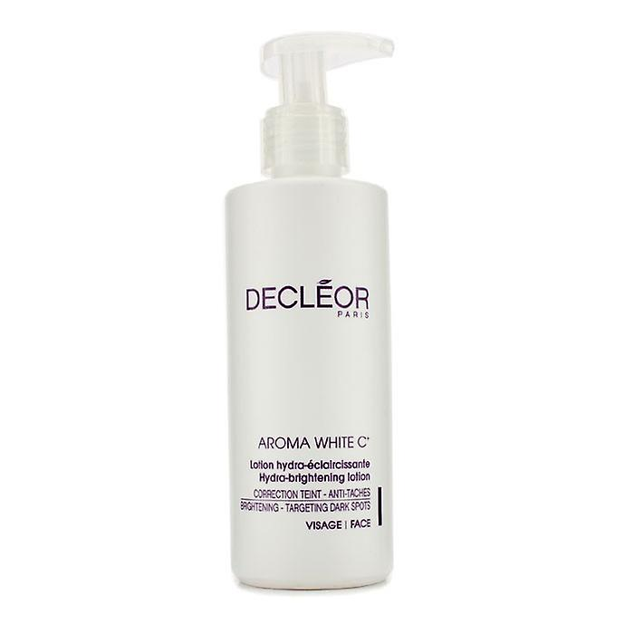 DECLEOR Aroma White C + Lotion Hydra-éclaircissant (Salon Size) 200ml / 6,7 oz