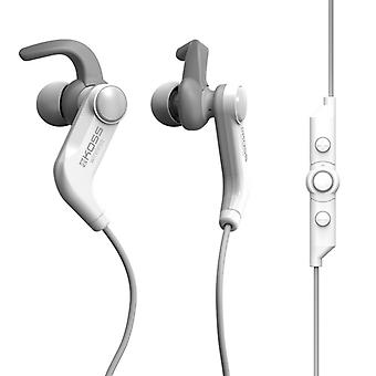 KOSS Hörlur BT190i In-Ear Mic Vit