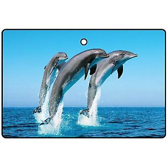 Leaping Dolphins Car Air Freshener
