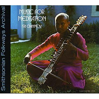 Sri Chinmoy - musik för Meditation [CD] USA import