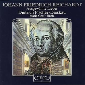 Johann Friedrich Reichardt - Reichardt: Ausgew Hlte Lieder [CD] USA import