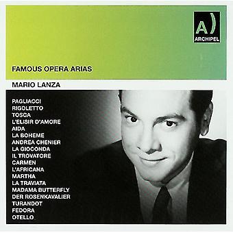 Vokal / Lanza - Mario Lanza-Opern Ariën Rca [CD] USA import