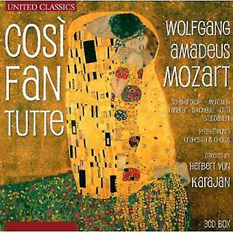 W.a. Mozart - Mozart: Cos Fan Tutte [CD] USA import