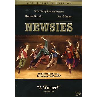 Newsies [DVD] USA import