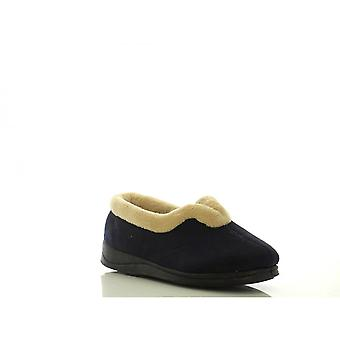 Padders Womens Slipper Carmen Navy