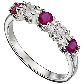925 Silber Zirkonia Ring modisch