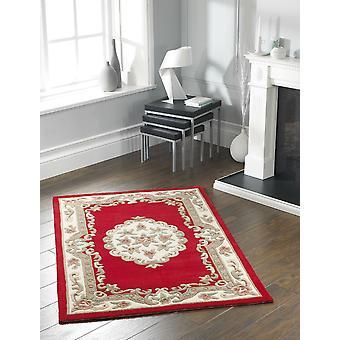 Shensi Shensi rectángulo vino alfombras alfombras tradicionales
