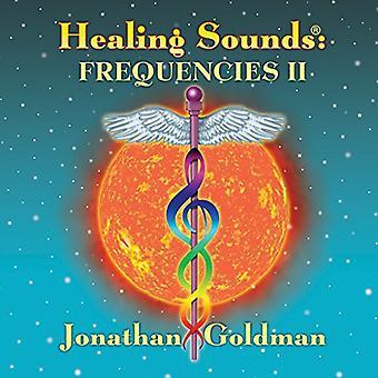 Jonathan Goldman - Healing lyde: Frekvenser II [CD] USA import