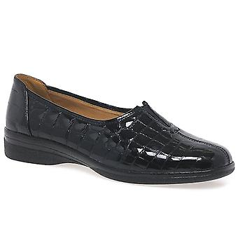 Gabor  Gabor Alice Leather Wide Fit Shoes