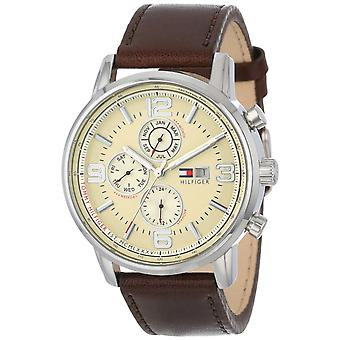 Tommy Hilfiger Leather Chronograph Mens Watch 1710337