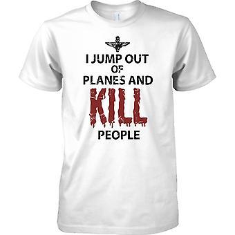 Faccio un salto fuori di aerei e di uccidere persone - pippo - Mens T-Shirt