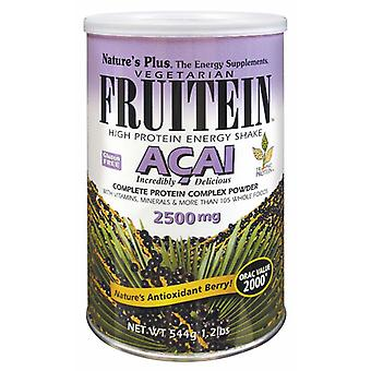 Natures Plus FRUITEIN Acai Shake, 1.2 lb