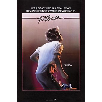 Footloose - Movie Poster Poster Print