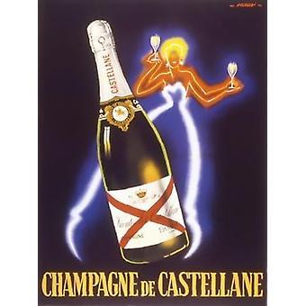 Champagne de Castellane Poster Print by Robert Falcucci (24 x 32)