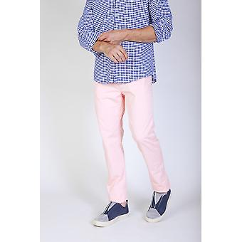 Jaggy Trousers Pink Men