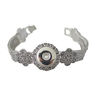 Stainless Steel Bracelet For Click Buttons Kb0172