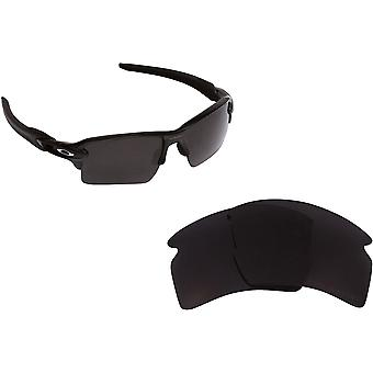 Best SEEK Polarized Replacement Lenses for Oakley FLAK 2.0 XL Black