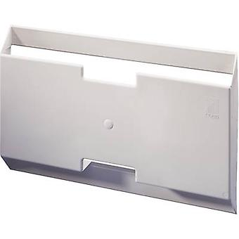 Rittal 2514.000 Switch Triangular Plate Made Of Plastic Polystyrene with self-adhesive mounting rails. Light grey (RAL