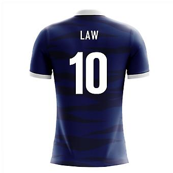 2018-2019 Scotland Airo Concept Home Shirt (Law 10)
