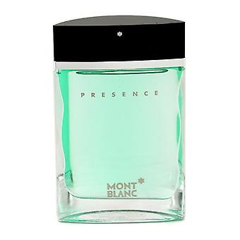 Montblanc Presence Eau De Toilette Spray 75ml/2.5oz