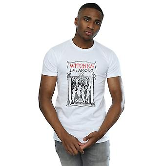 Fantastic Beasts Men's Witches Live Among Us T-Shirt