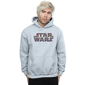 Star Wars Herren Farbe aztekische Logo Hoodie