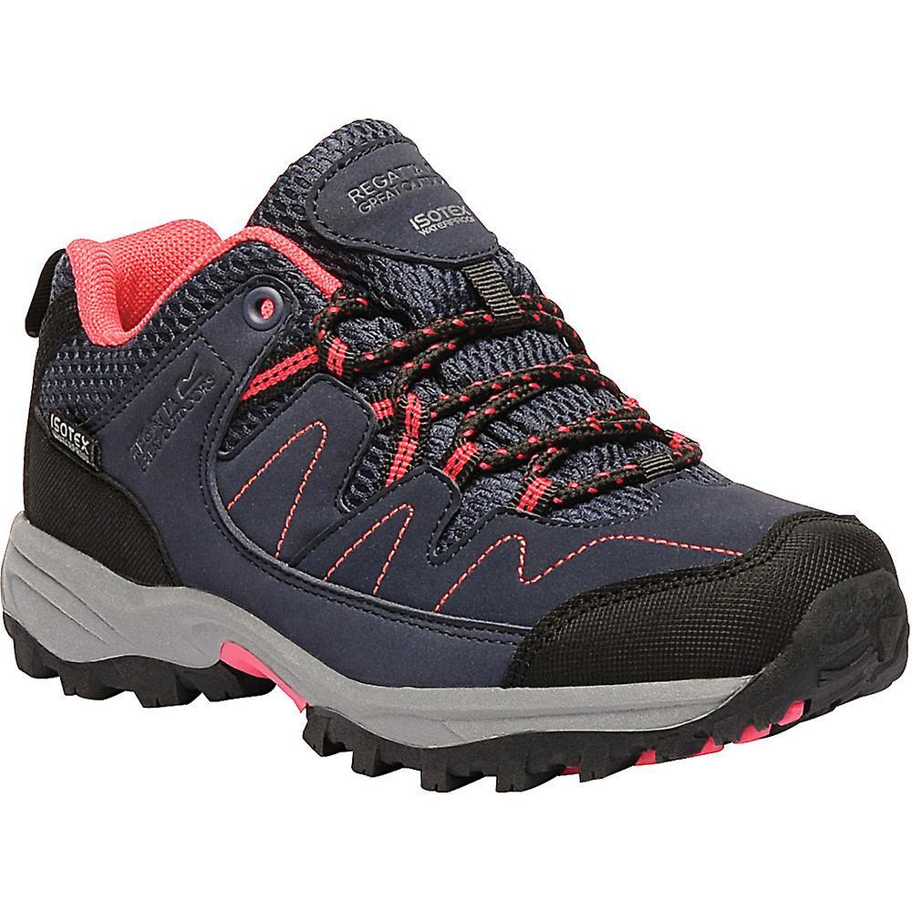 Regatta Waterproof Boys Holcombe Low Junior Waterproof Regatta Breathable Walking Shoes 93ec39