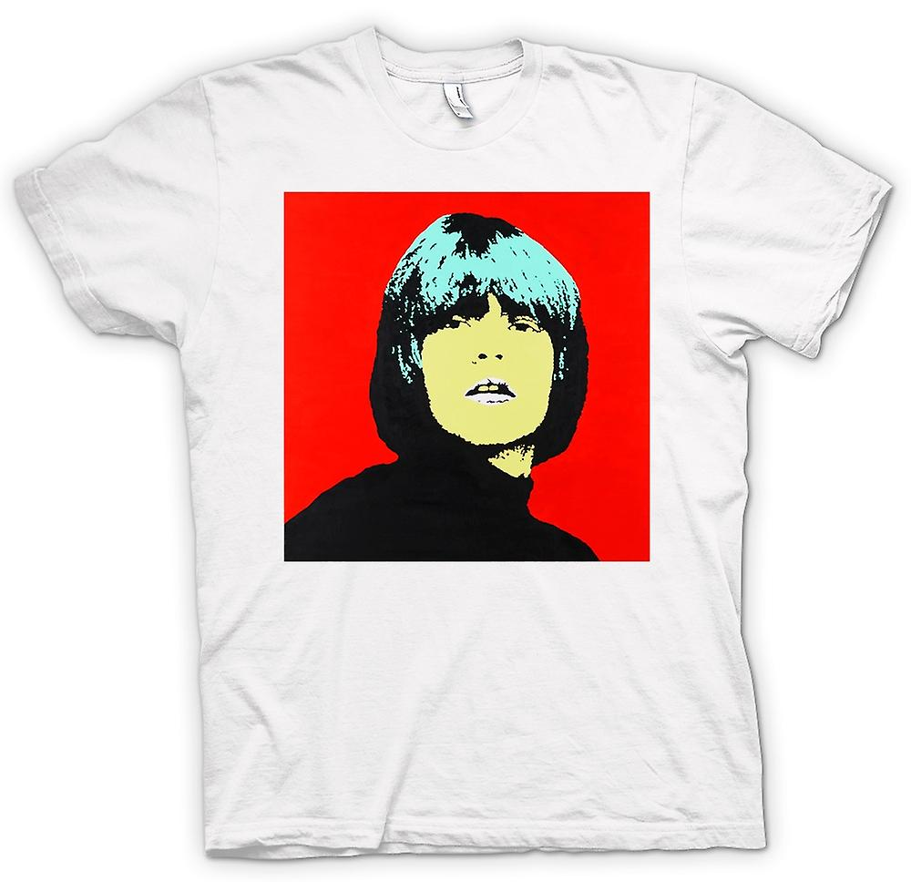 Womens T-shirt - Rolling Stones Brian Jones - Pop Art