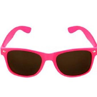 Pink Neon Wayfarer Glasses