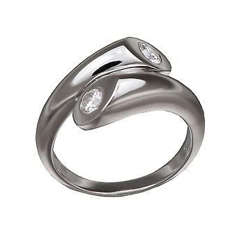 Orphelia Silver 925 Ring Duo  Zirconium   ZR-3631