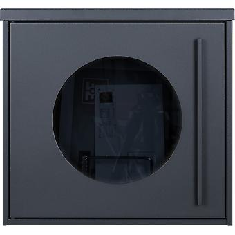 MOCAVI box 105 G designer letterbox anthracite (RAL 7016) window