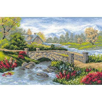 Summer View Counted Cross Stitch Kit-15